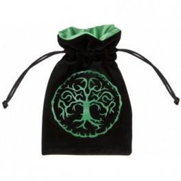 Bolsa Forest negra y verde