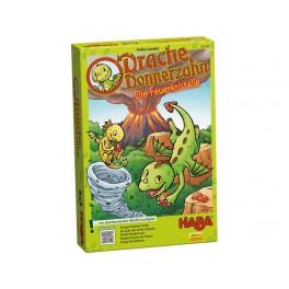 Dragón Diente de Trueno: Los cristales de fuego - juego de mesa para niños