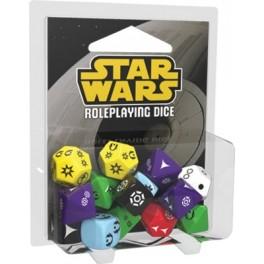 Set de dados Star Wars: El juego de Rol