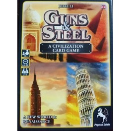 Guns and steel: a civilization card game