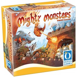 Mighty monsters + Promo - juego de mesa