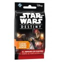 Star Wars Destiny. El imperio en guerra: Caja de sobres de ampliacion