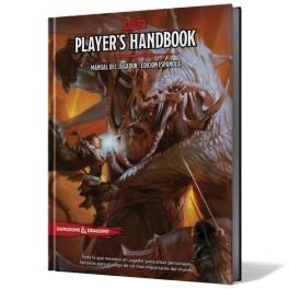 Dungeon and Dragons: Players Handbook - Manual del Jugador edicion española - suplemento de rol
