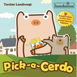 Pick a Cerdo juego de mesa