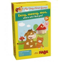 Mis primeros juegos  Mi, ma, mu, en que casa vives tu - Juego de mesa para niños de Haba