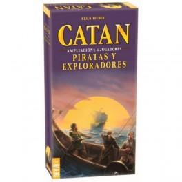Catan expansion 5-6 jugadores - Piratas y Exploradores