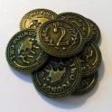 Scythe: monedas metalicas