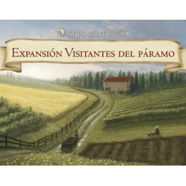 Viticulture: visitantes del paramo - expanson juego de mesa
