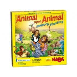 Animal sobre animal: Memotorre Juego de mesa para niños de Haba