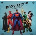Justice League: Dawn of Heroes juego de mesa