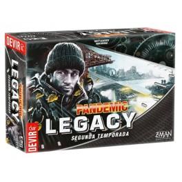 Pandemia Legacy Season 2 negro - juego de mesa