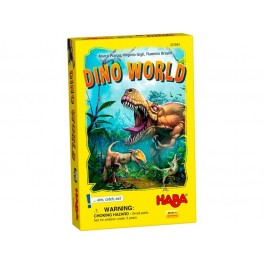 Dino World - juego de cartas para niños