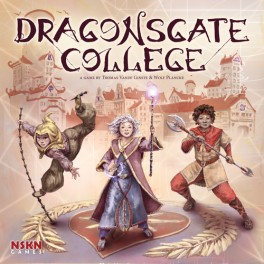 Dragonsgate college + PROMO juego de mesa