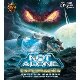 Not Alone: Expansion Exploracion + PROMO expansión juego de cartas