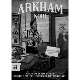 Arkham Noir: los asesinatos del culto de la bruja juego de cartas