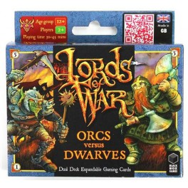 Lords of War: Orcos vs Enanos juego de mesa