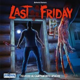 Last Friday: regreso al campamento apache + PROMO (edicion en castellano) expansion juego de mesa