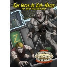 Savage Worlds: los fosos de Zal-Astar suplemento de rol