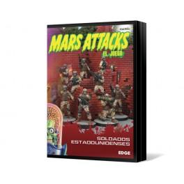 Mars Attacks: Soldados estadounidenses juego de mesa