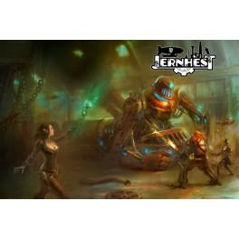 Jernhest + extras mecenazgo juego de rol