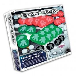 Star Saga: Set de marcadores Acrilicos (nexo) expansion juego de mesa