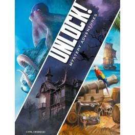 Unlock: mystery adventures - juego de cartas