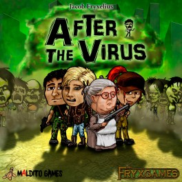 After the Virus (edicion en castellano) - juego de cartas