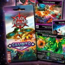 Star realms: Gambito - expansión juego de cartas
