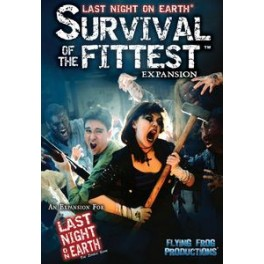 Last night on earth: survival of the fittest expansion juego de mesa