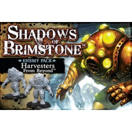 Shadows of Brimstone: Harvesters - enemy pack expansion juego de mesa