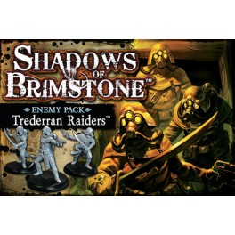 Shadows of Brimstone: Trederran raiders - enemy pack expansion juego de mesa