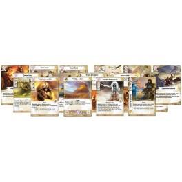 La Leyenda de los Cinco Anillos LCG: mazo del clan leon expansion juego de cartas