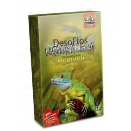Desafios de la Naturaleza:Reptiles juego de cartas