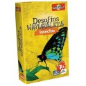Desafios de la Naturaleza: Insectos juego de cartas