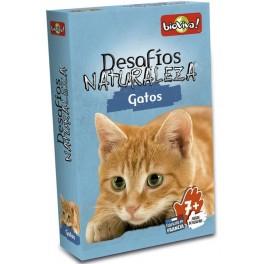 Desafios de la Naturaleza: Gatos juego de cartas