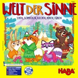 El mundo de los sentidos juego de mesa para niños de Haba