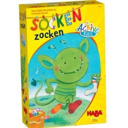 El monstruo de los calcetines: Coleccion Active Kids juego para niños