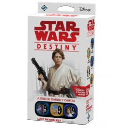 Star Wars Destiny. Caja de inicio Luke Skywalker