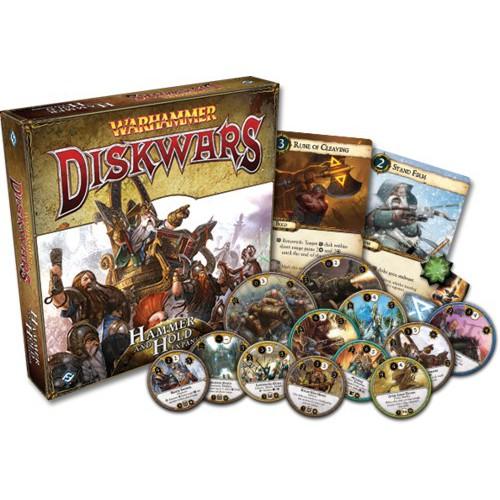 Comprar Warhammer Diskwars Martillo Y Fortaleza Expansion Juego