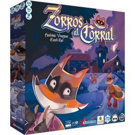 Zorros al corral - juego de mesa