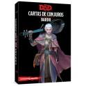 Dungeons and Dragons: bardo - cartas de conjuros suplemento de rol