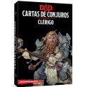 Dungeons and Dragons: clerigo - cartas de conjuros suplemento de rol
