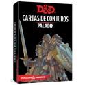 Dungeons and Dragons: paladin - cartas de conjuros suplemento de rol