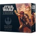 Star Wars Legion: Soldados rebeldes - expansión juego de mesa