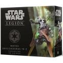 Star Wars Legion: Motos deslizadoras 74-Z - expansión juego de mesa
