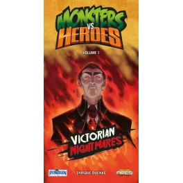 Monsters vs heroes: victorian nightmares (edicion en castellano) juego de cartas