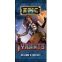 Epic tiranos: sobre las tretas de Helion expansión juego de cartas