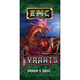 Epic tiranos: sobre la furia de Draka expansión juego de cartas