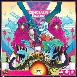 Dinosaur island - juego de mesa