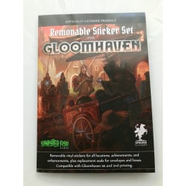 Gloomhaven: removable sticker set - accesorio